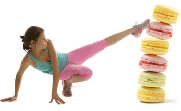 Занятия спортом при диете без сладкого и мучного
