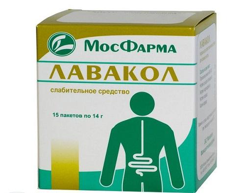 Слабительное средство для очищения кишечника в домашних  605