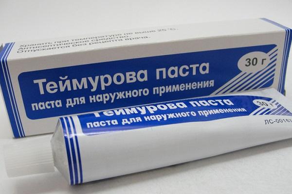 Паста Теймурова инструкция по применению