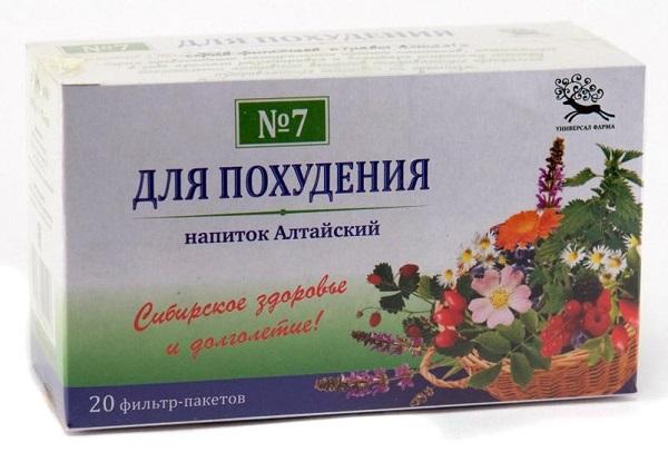 Чай для похудения в аптеках