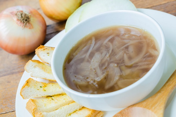 Рецепт лукового супа для похудения