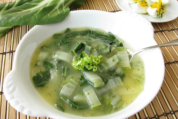 Рецепт лукового супа с сельдереем