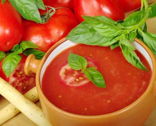 Суп с томатным соком для похудения