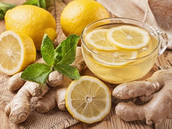 Зеленый чай имбирь лимон рецепт для похудения