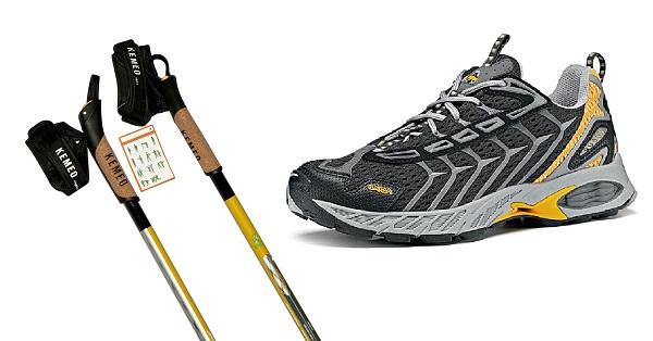 Снаряжение для скандинавской ходьбы с палками