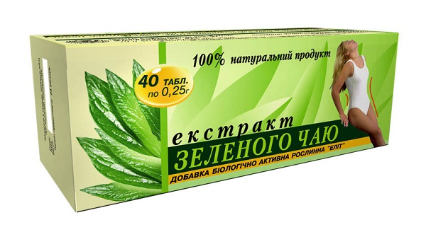Для похудения Зеленый чай