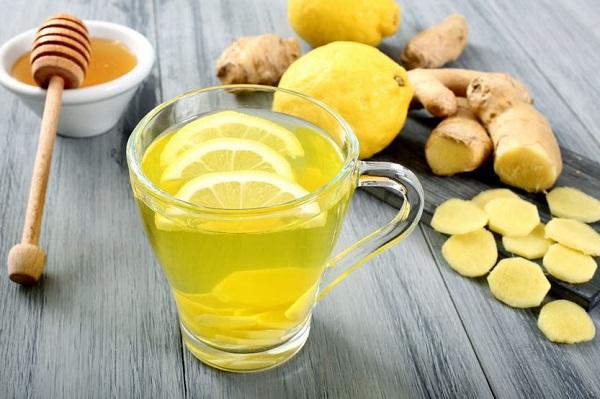 Имбирь корица мед лимон