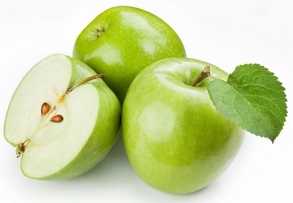 Для похудения яблоко
