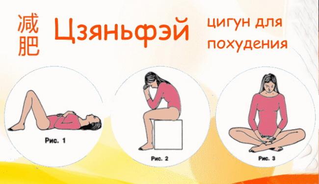 Упражнения китайские похудение