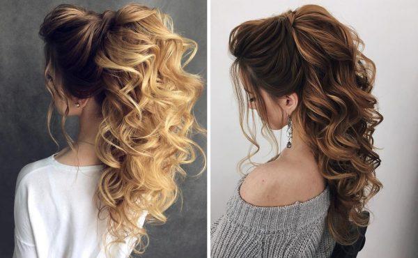 Идеи свадебных причёсок на длинные волосы в 2019 году: подборка лучших образов