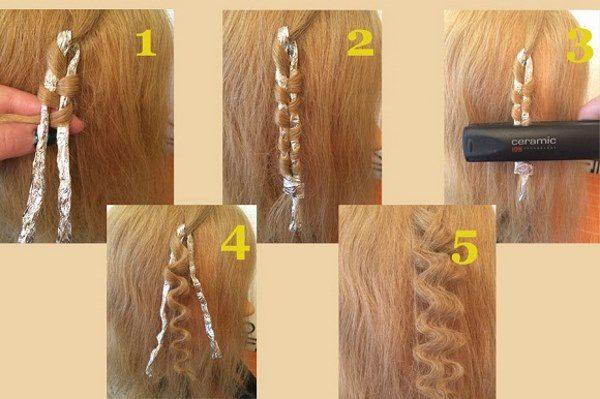 Как накрутить волосы на утюжок для выпрямления: техники на разную длину волос, пошаговые МК с фото, видео