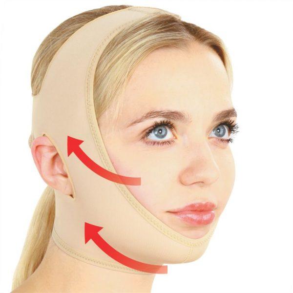 Как подтянуть кожу на шее и подбородке в домашних условиях
