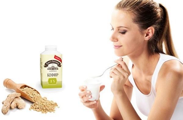 Кефир с имбирём для похудения: как приготовить и правильно пить?