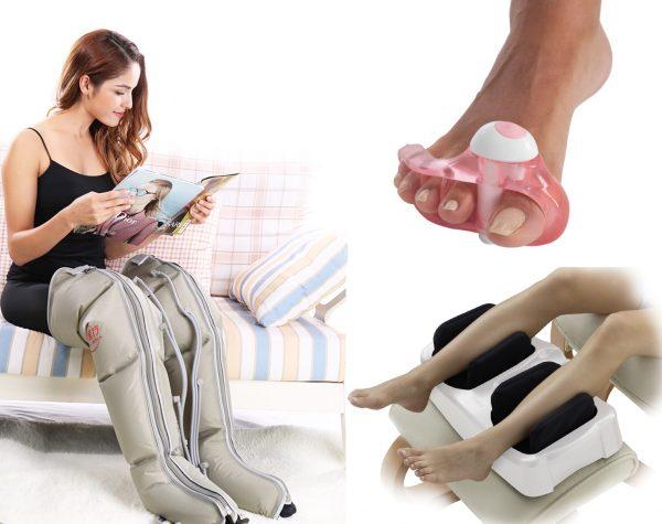 Классификация массажёров для ног и области их применения