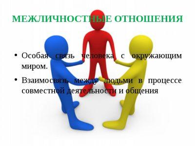 Межличностное общение – психология межличностных отношений