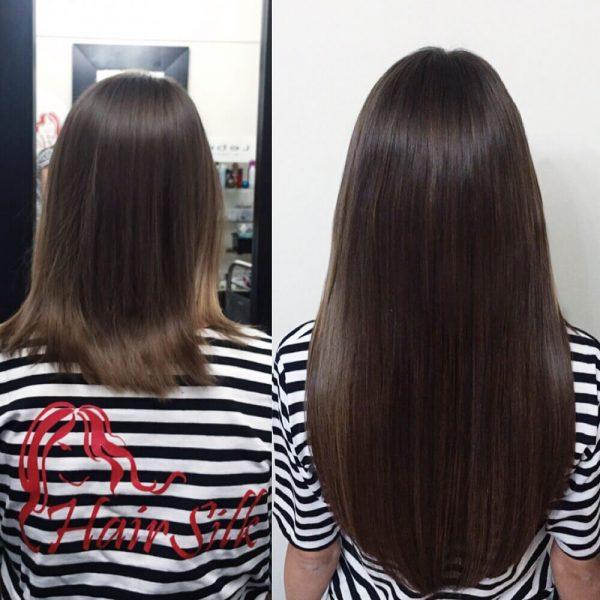 Нюансы ухода за волосами после процедуры наращивания