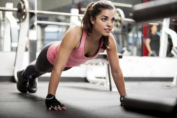 Отжимания для похудения: как добиться видимого результата