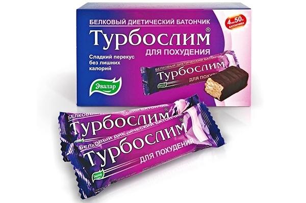 Батончики Турбослим: вкусное и эффективное похудение без побочных эффектов