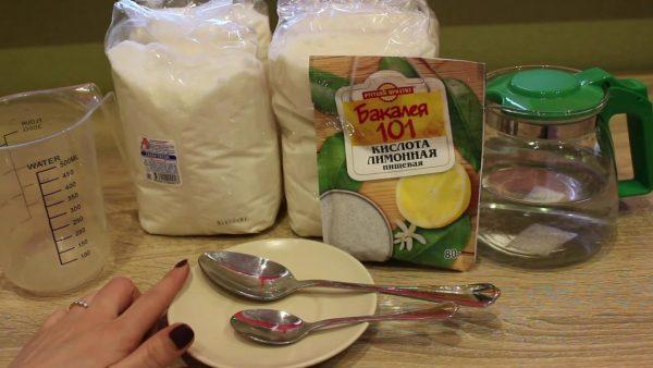 Как приготовить пасту для шугаринга с лимонной кислотой