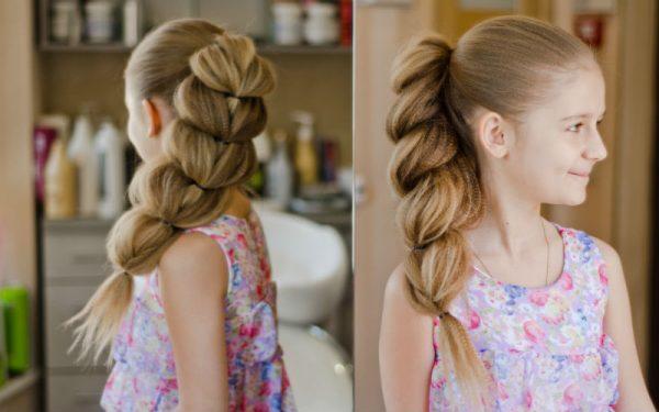 Как заплести косу девочке красиво и просто
