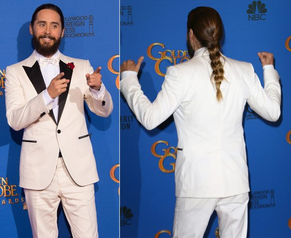Косички: стильный и необычный вариант мужской причёски