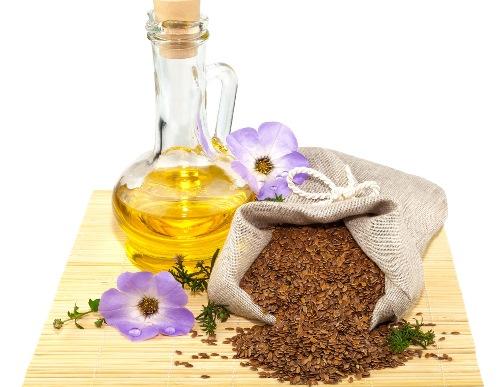 Льняное масло для решения разных типов кожных проблем