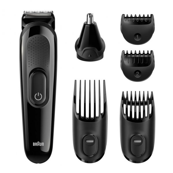 Машинки для стрижки волос Braun: обзор моделей, характеристики