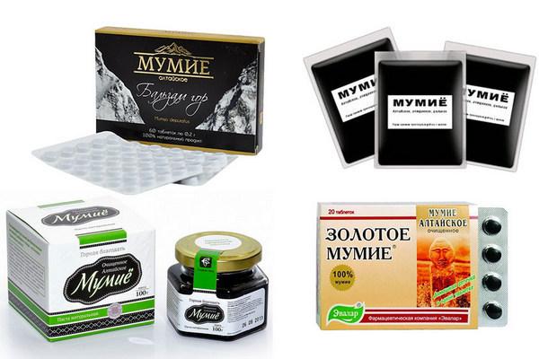 Мумие мед имбирь похудения