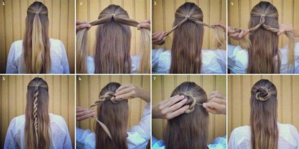 Причёски в школу за 5 минут: стильно, модно, красиво