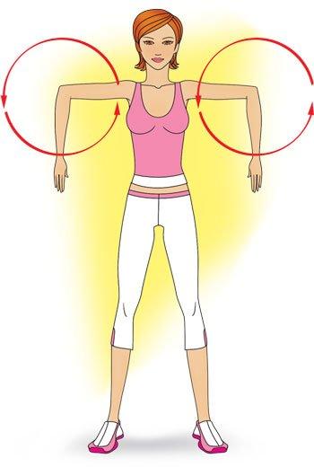 Упражнения для подтяжки рук в домашних условиях