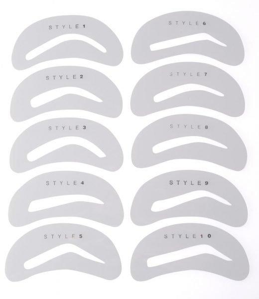 Выбор формы бровей и способы их коррекции