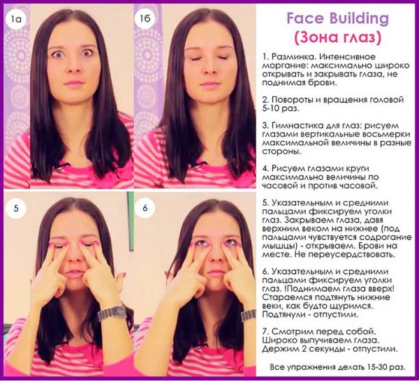 5 эффективных упражнений от морщин вокруг глаз: омолаживающая сила фейсбилдинга