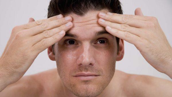 Эффективная борьба с морщинами на мужском лице