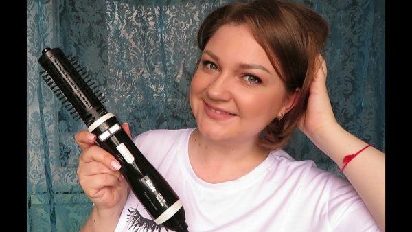 Особенности и виды фенов-щёток для волос: обзор марки Rowenta