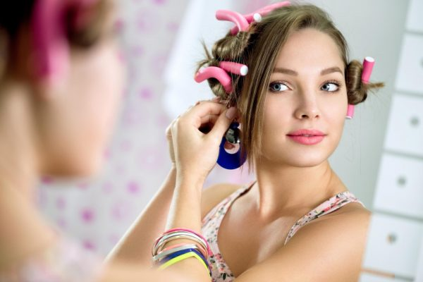 Создание красивых локонов на волосах средней длины
